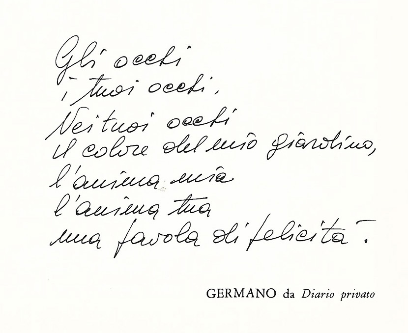 Germano-poesia-diario-privato