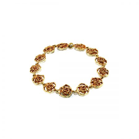 germano-gioielli-bracciale-flora-a-maglie-rose-traforate