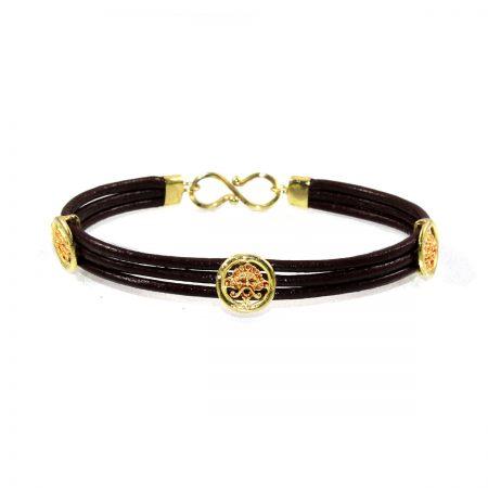 germano-gioielli-bracciale-logo-3-fili-cuoio