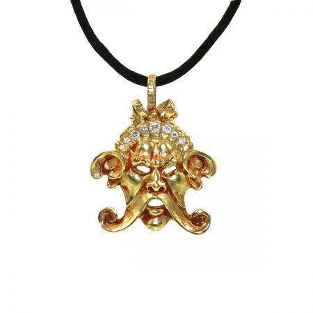 germano-gioielli-ciondolo-logo-grande-diamanti