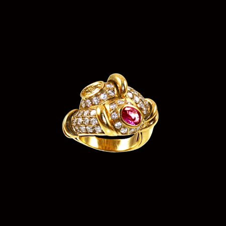 germano-gioielli-luxury-anello-contrarie-zaffiro-rosa-giallo-diamanti