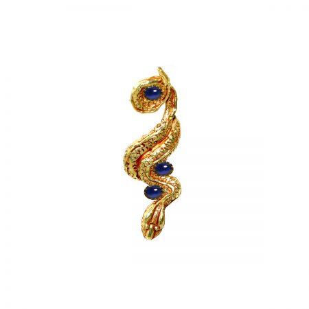 germano-gioielli-terra-ciondolo-serpente-lungo-zaffiri-cab