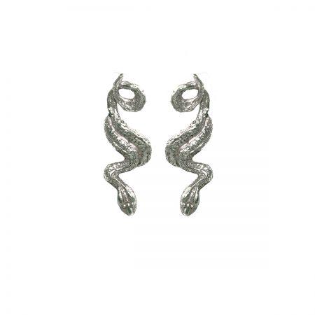 germano-gioielli-terra-orecchini-serpente-lungo-oro-bianco