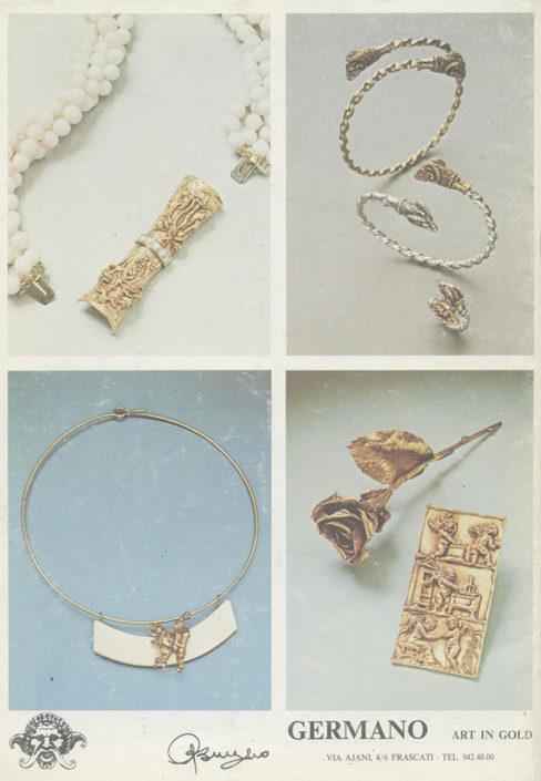 Arte in oro germano gioielli