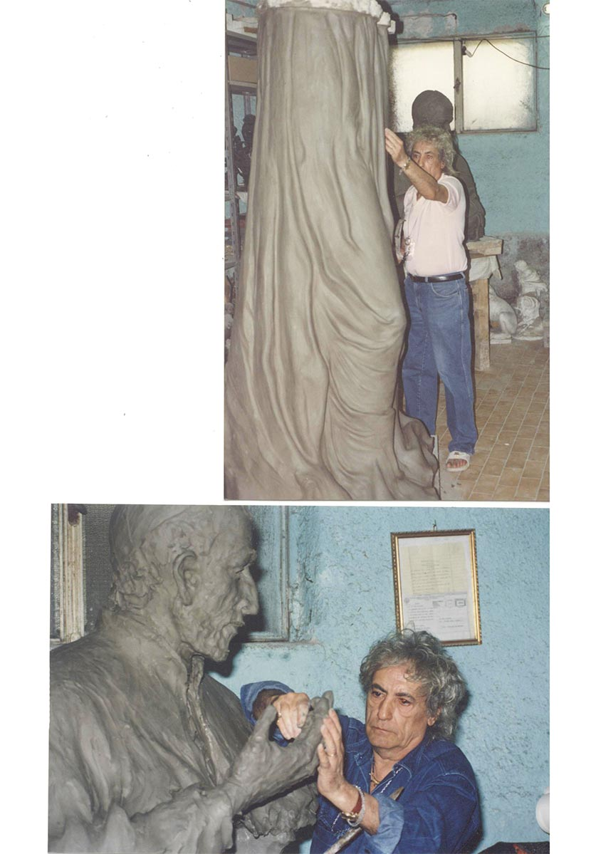 Germano-lavorazione-statua-germano-gioielli